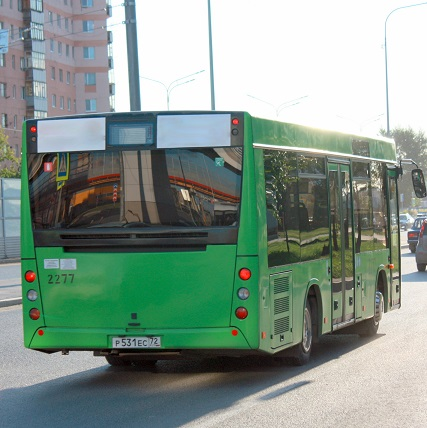 На линию вышли автобусы №8 «СК
