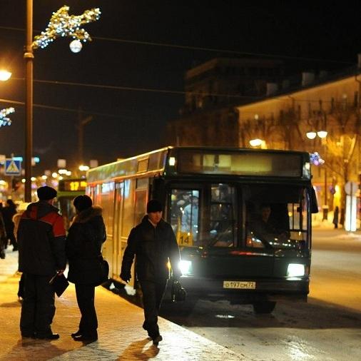 Тюменские автобусы перешли на